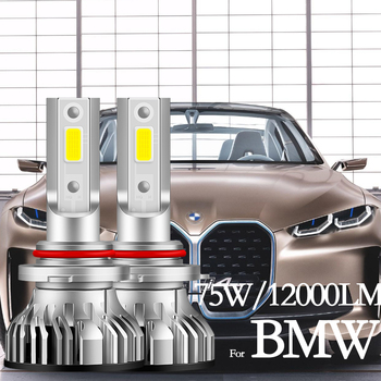 for BMW E87 E46 E39 E38 Z3 Z8 E65 E85 E60 E63 E90 E82 F10 F12 High Beam Low Beam Headlight Bulbs Led Fog Light H1 H7 H11 image