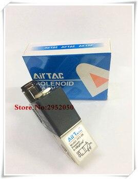 """Airtac, válvula de aire electromagnética eléctrica de 2/3 vías, 3 puertos, 1/8 pulgadas, BSP, 1/8 """", válvula solenoide de Control 3V1-06, 12v, 24v, CC, 110v, 220v, v"""