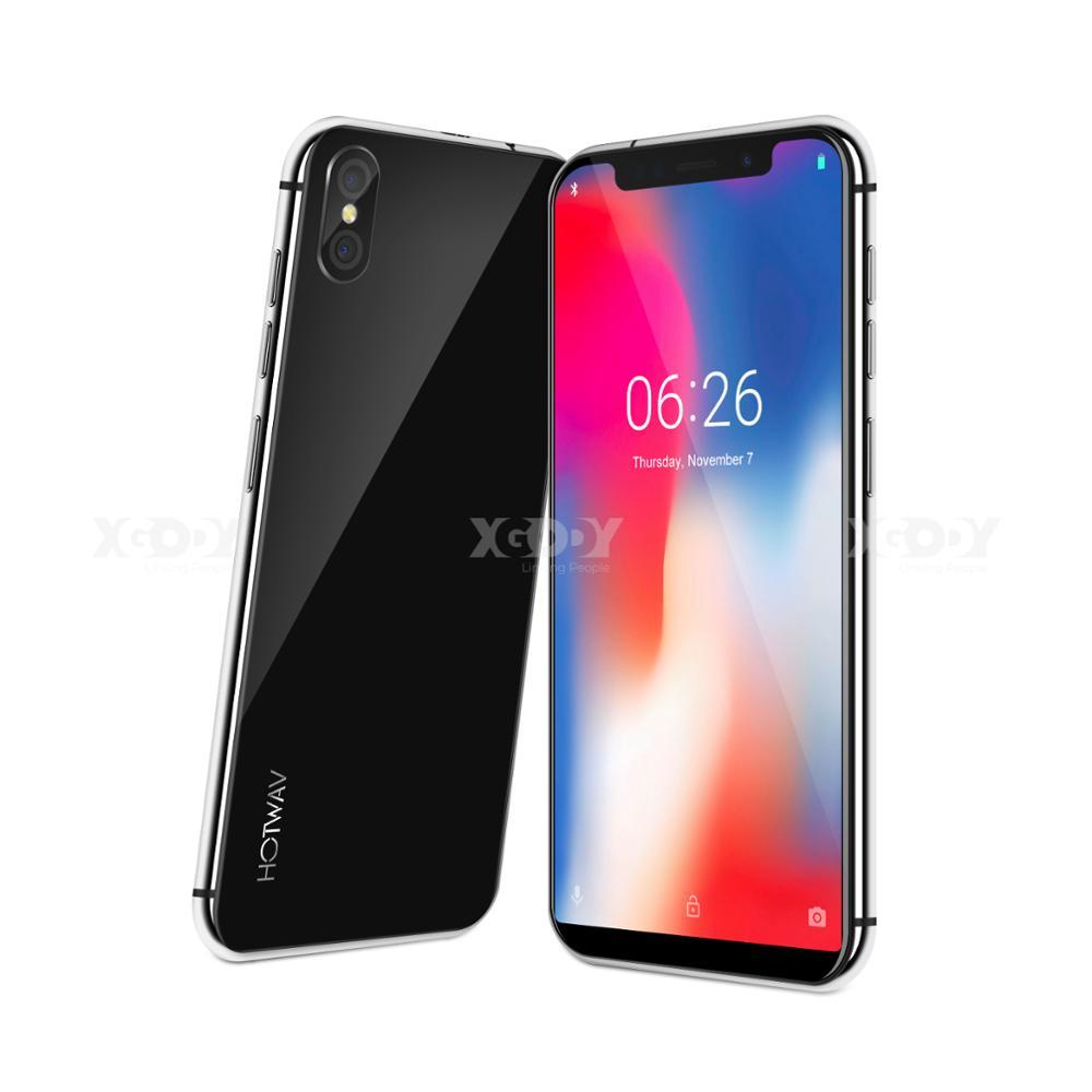 "XGODY Symbol Max 4G Smartphone 6.26"" 18:9 Android 8.1 3GB RAM 32GB ROM 3150mAh Quad Core Dual SIM Face ID Mobile Phone CellPhone"