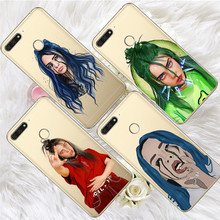 Billie eilish For huawei Y5 Y6 II Prime Nova 2 3 4 3i Plus 2018 2017 phone case Cover Coque Etui funda etui capinha capa fashion