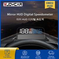 Pantalla frontal de coche, proyector Digital de velocidad, alarma de aceite, temperatura, Turbo, manómetro automático, OBD2, HUD, novedad de 2021