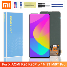 Original 6.39 LCD For Xiaomi Redmi K20 Pro K20 LCD Display Touch Screen Digitizer Assembly For Xiaomi Mi 9T 9T pro LCD Screen 10piece lot for xiaomi redmi k20 k20 pro case flip leather cases for xiaomi mi 9t mi 9t pro stand case pu leather cover