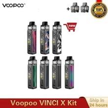 Новый оригинальный набор VOOPOO VINCI X Pod 5,5 мл бак Двойная Катушка система 70 Вт Питание от одного аккумулятора 18650 Vape Kit Vs Vinci Mod Kit