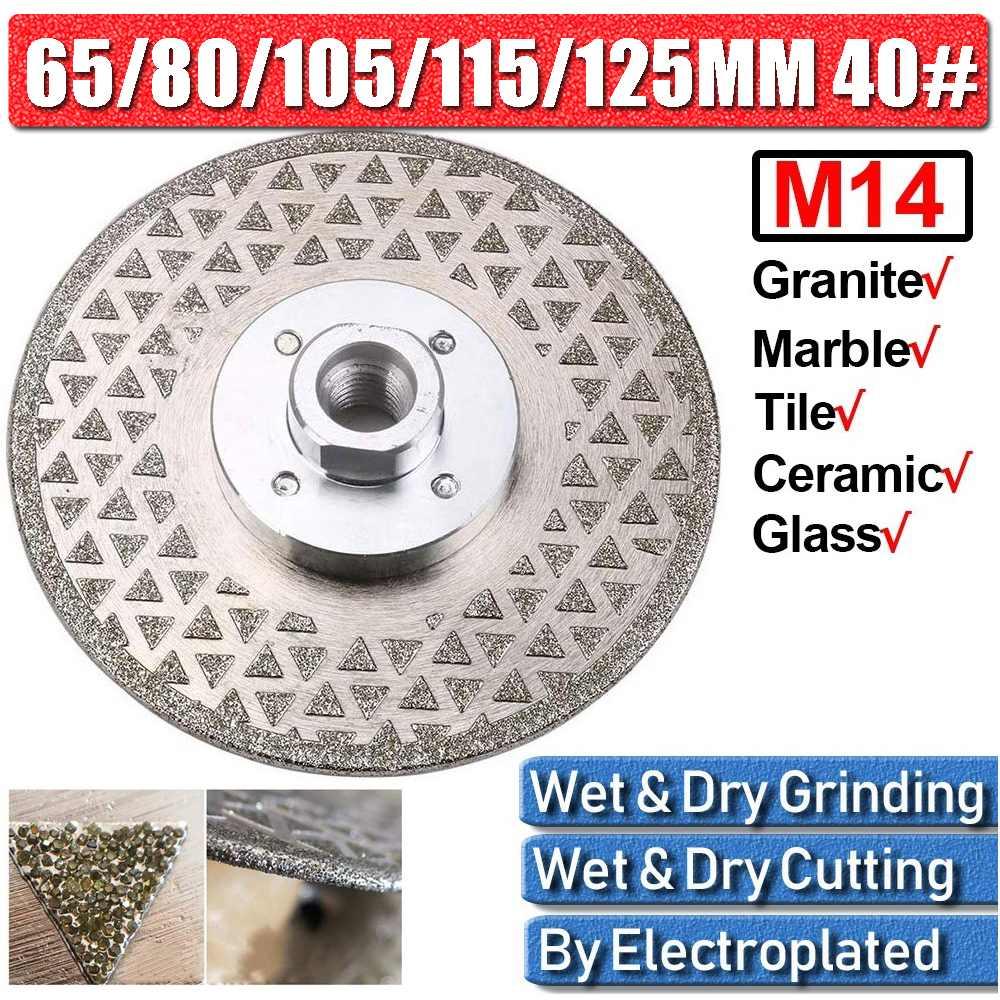 65-125mm Porcelain Tile Thin Diamond Dry Cutting Blade/Disc Grinder Grinding Wheel Granite Marble Saw Polishing Abrasive Wheel
