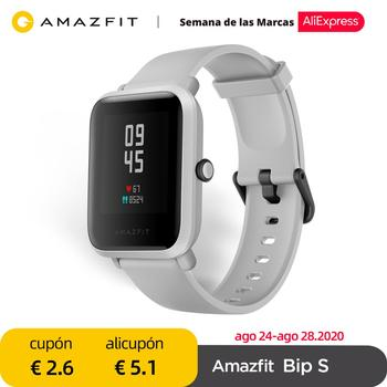 In stock Amazfit Bip S Global Version Smartwatch 5ATM GPS GLONASS Bluetooth Smart Watch for android iOS Phone 1