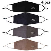 4pcs Mouth Masks Creative Men Cotton Embroider Warm Dust-Proof Face Mouth Mask Half Face Mask for Women Dropshipping