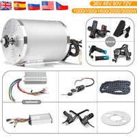 Elektrische Roller Motor Kit Elektrische Go-kart-kit 1000W 3000W 48V-72V Elektromotor für skateboard Ebike Motor Controller 50A