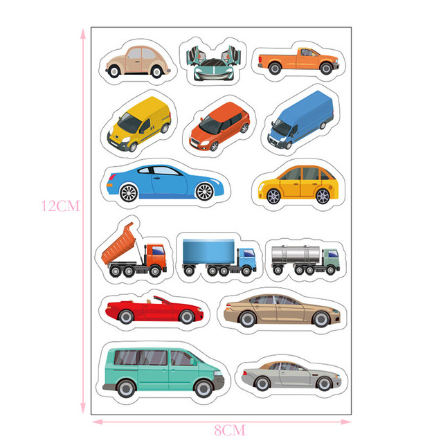 5m Railway Road Traffic Tape Washi Tape Sticker DIY Road Traffic Road Adhesive Masking Tape Car Stickers For Kids Toy Car Train 4