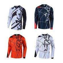 2021 descente montagne maillot hors route maillot vtt MX vélo cyclisme maillot de Motocross respirant DH séchage rapide