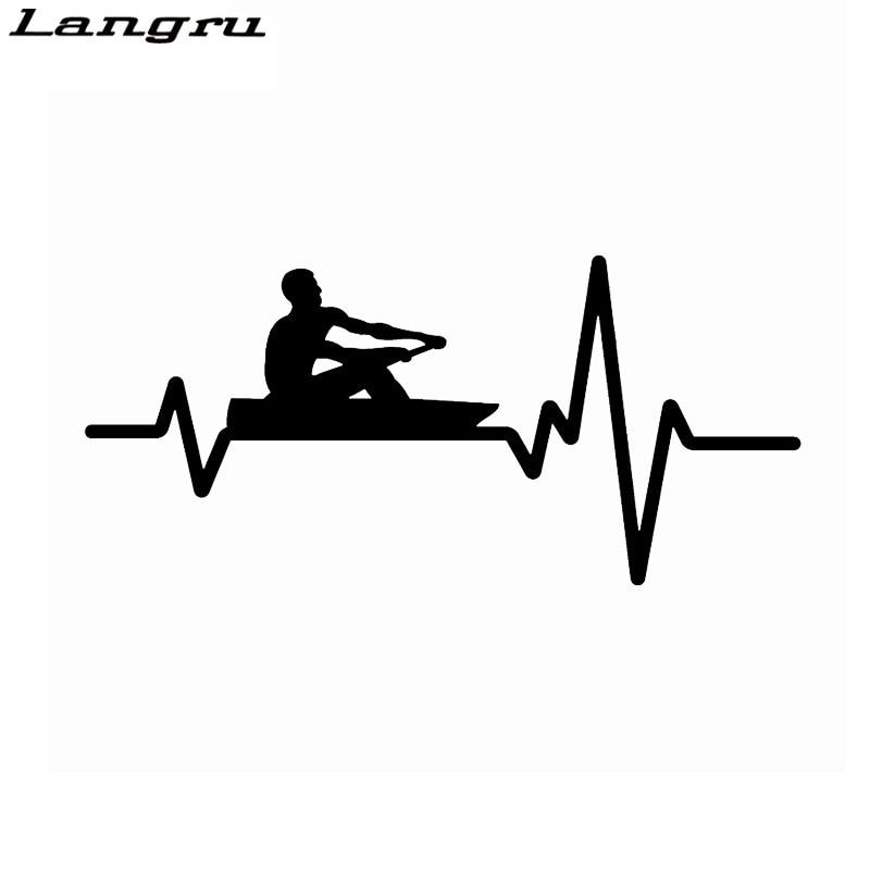 "Vinyl Decal Sticker OVAL I Yak Kayak Paddle Car Truck Bumper Window JDM Fun 7/"""