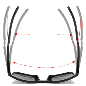 Image 4 - VIAHDA Ultralight TR90 Occhiali Da Sole Polarizzati Donne Degli Uomini di Guida Maschio Occhiali Da Sole di Pesca di Stile di Sport Occhiali Oculos Gafas
