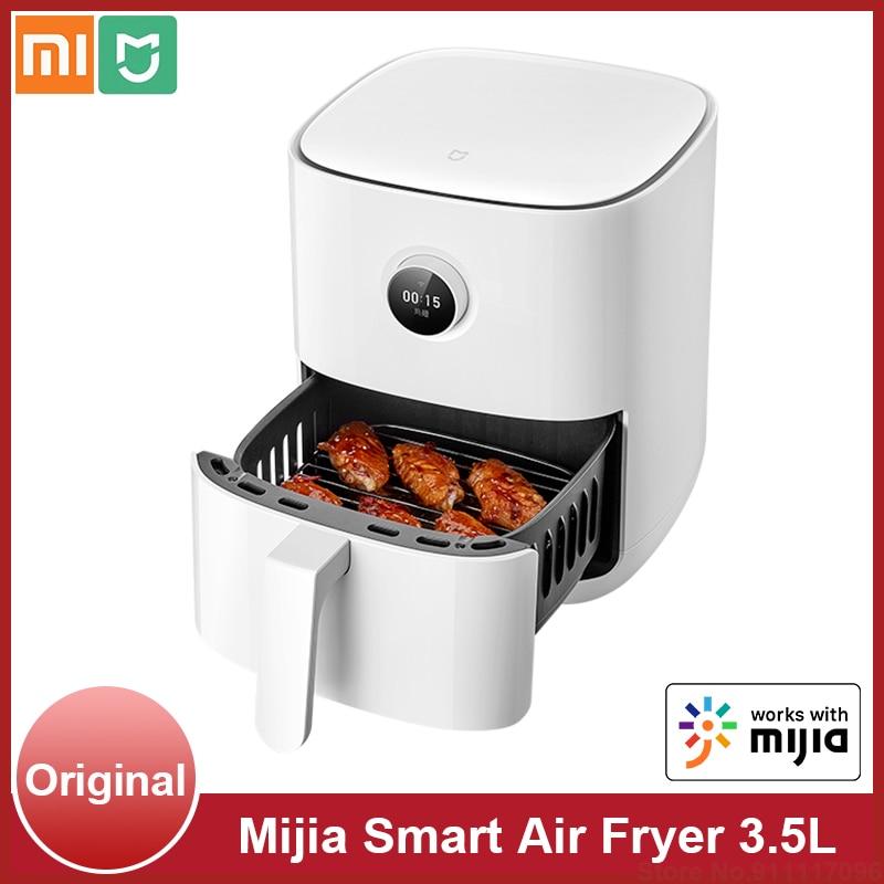 Mijia-Nồi chiên không khí điện thông minh, màn hình oled 3,5l, lò nướng không dầu, nồi chiên không khí 360 mi, kẹo, điều khiển ứng dụng Mijia thumbnail