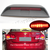 MIZIAUTO High Mount Stop For Chevrolet Cruze 2011 2015 Rear Tail brake light Warning Light Lamp new Sail rear glass window