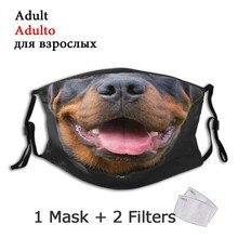 Рttweiler Doggo многоразовая маска для лица, Пылезащитная маска с фильтрами, респиратор, муфельная маска для рта