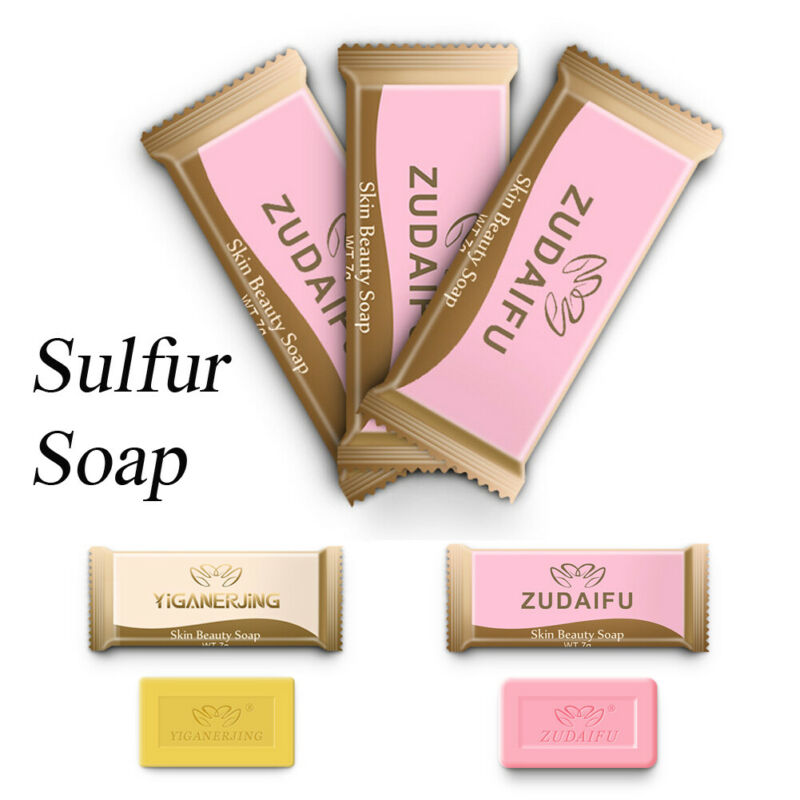 Sulfur Soap Oil-control Acne Treatment Blackhead Remover Cleanser Skin Soap
