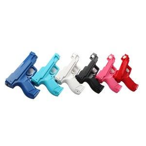 Image 3 - Luce Pistola impugnatura a Pistola Tiro Sport Video Game per Wii Remote Controller di vibrazione pistola della pistola per W i i maniglia del gioco