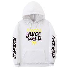 Толстовки с принтом rapper juice wrld для мужчин harajuku пуловер