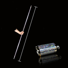 цена на 1/2pcs magic Pocket Bo Staff Collapsible That Fits In Your Pocket Metal Pocket Staff Martial Arts In Party Magic Prop Mtg Sets