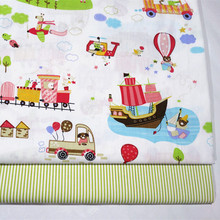 Baby Twill Fabric Cotton Printing Cartoon Car Furniture Cover Sewing Fabric Soft Breathble Kids Bedding Home Textile Fabric arrow home furniture white riley blake sewing notions fabric chair