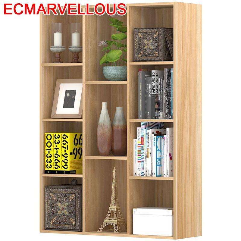Bois Dekorasyon Boekenkast Kids Decoracao Mobili Per Casa Shabby Chic Wood Decoration Retro Furniture Book Bookshelf Case