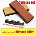 3 шт. Набор 180-3000-5000-10000 точильный камень система точильный брус для ножей шлифовальный камень