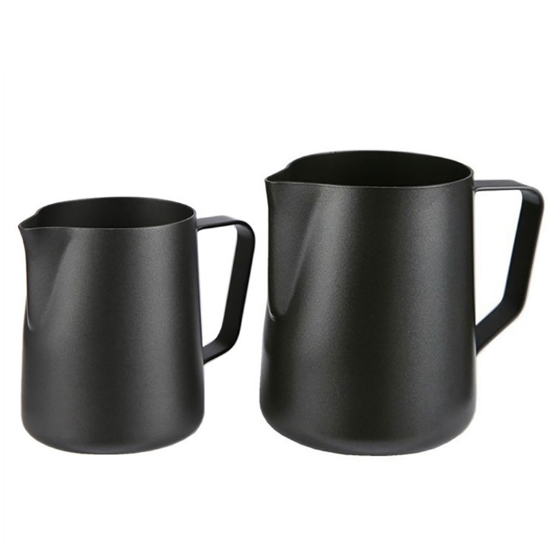 The New Anti-Adherent Stainless Steel Milk Jug Craft Barista Espresso Coffee Frothing Latte