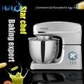 Commerciële rvs 1500W multifunctionele Deeg Mixer Huishoudelijke Elektrische Mixer 7L Ei Crème Salade Beater taart mixer