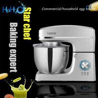 Commercial 1500W kitchen multifunctional Dough Mixer Auto Household Electric Food Mixer 7L Egg Cream Salad Beater cake mixer