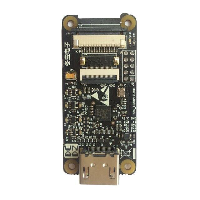 ล่าสุดRaspberry Pi ZERO HDMIอะแดปเตอร์HDMIอินเทอร์เฟซCSI 2 TC358743XBGสำหรับ3B 3B + D3 003