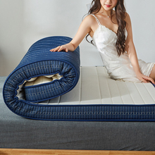 White Blue Mattress Foldable Slow Rebound Foam Mattress Thicken Tatami High Quality