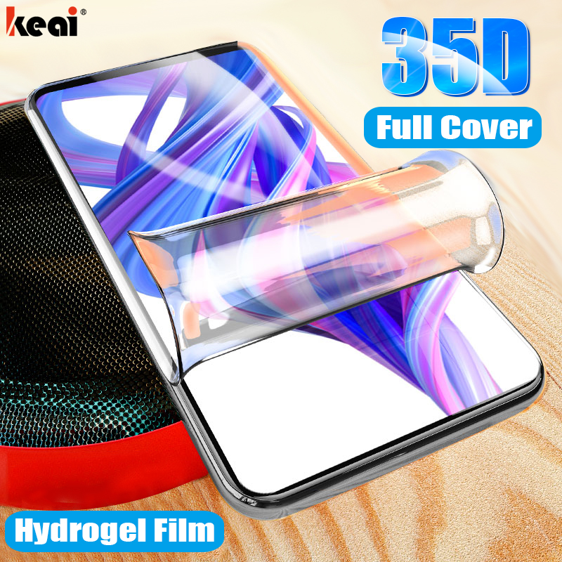 35D Hydrogel Film For Huawei Honor 9X  9 10 Lite 8X 7A 20i 20 Pro Screen Protector For Huawei P Smart 2019 2018 Z Nova 5t Film