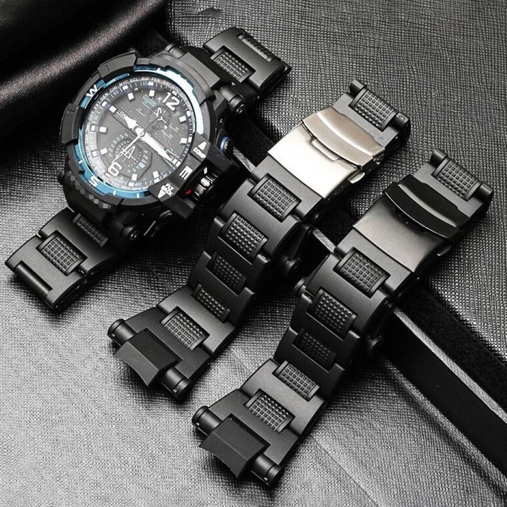 Watch Strap Durable Stainless Steel WatchBand Replacement Strap For C-asio G-Shock GW-A1100/GW-A1000/GW-4000 ремешок для часов