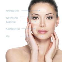 Circles-Mask Microneedle Eye-Pads Moisturizing-Lines Whitening Hyaluronic-Acid Fine Rejuvenating