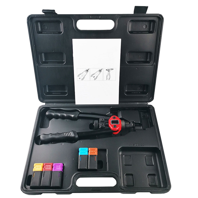 606 Type Automatic Rivet Tool Blind Hole Rivet Nut Heavy Duty Manual Insert Nut Tool Manual Spindle