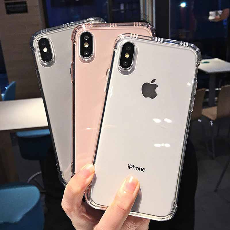 Shockproof Clear iPhone X, XR, XS Max - Iphone 6, 7, 8 Case 7