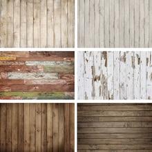 Rubber Floor Background Wood Floor Photo Anti-Slip Printed Newborn Portrait Wooden  Backdrop Anti-slip Mat Photostudio