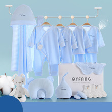 Summer 2021 New Kids Combed Cotton Breathable Baby Girl boy Lovely Printing Comfortable Set Newborn Clothes Without Box XB152