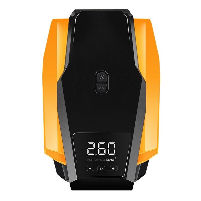 Digital Display Car Bicycle Inflatable Pump Air Compressor Portable 12V/220V Automobile Bike Tire Inflator Mini Electric Pump