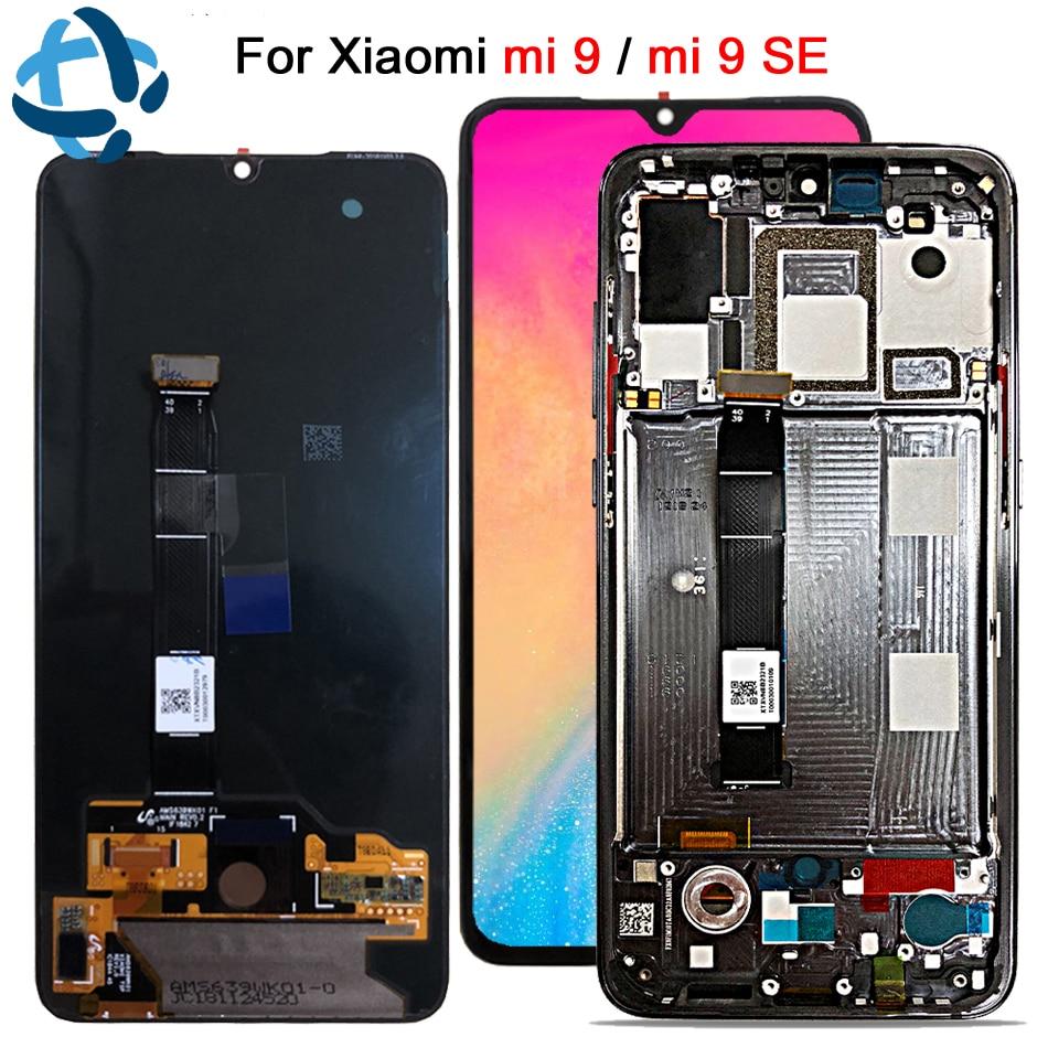 Original pour Xiao mi 9 LCD mi 9 affichage numériseur assemblée écran tactile M1903F remplacement pour Xiao mi 9SE LCD mi 9 mi 9 SE