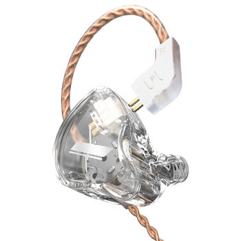 KZ EDX 1DD In Ear Earphones HIFI Bass Earbuds Monitor Earphones Sport Noise Cancelling Headset KZ ES4 ZST X ED9 ED12 STM M10 ZS3 3