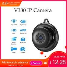 Camera IP Wifi Mini HD1080P Nhà An Ninh Không Dây Nhỏ Camera Quan Sát Hồng Ngoại Quan Sát Ban Đêm Phát Hiện Chuyển Động Khe Cắm Thẻ SD Card Âm Thanh V380 ứng Dụng