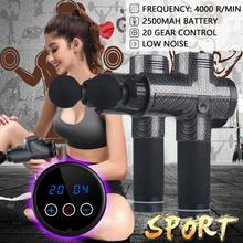 Relax Therapy Massage Gun Percussive Muscle Body Ma