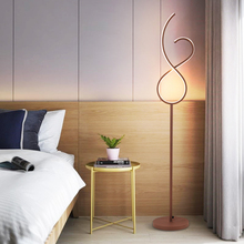 Modern Minimalist Floor Lamp LED Dimmable Floor Lights Nordic Living Room Bedroom Sofa Standing Lamp Indoor Decor Light Fixtures brokis muffins floor lamp wood base glass shade light nordic design modern floor lamp novelty vintage bulbliving room sofa side