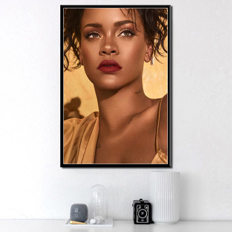A3 RIHANNA Beautiful R/&b pop Singer A0 A1 A4 GLOSSY Wall photo poster A2
