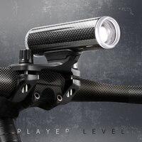 + 한정판 자전거 액세서리 자전거 핸들 바 리튬 조명 눈부심 방지 하이라이트 USB 충전 야간 독일 표준