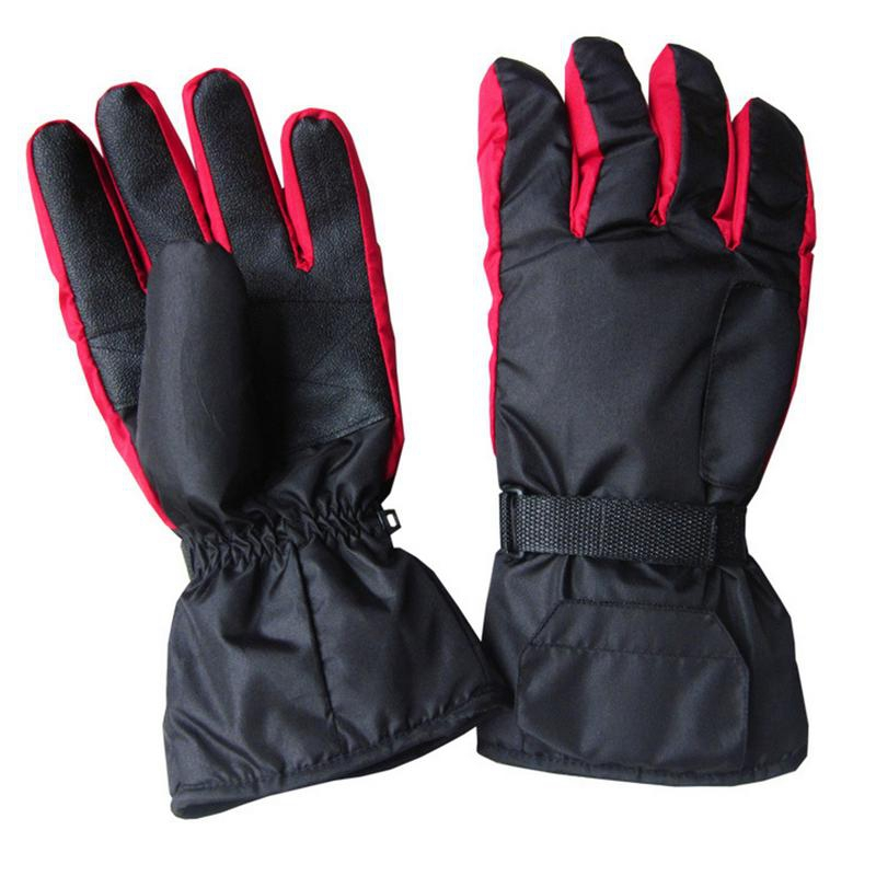 Carbon Fiber Heating Gloves Battery Box Power Supply Hot Ski Gloves Hand Back Fingers Heating Hot Electric Gloves