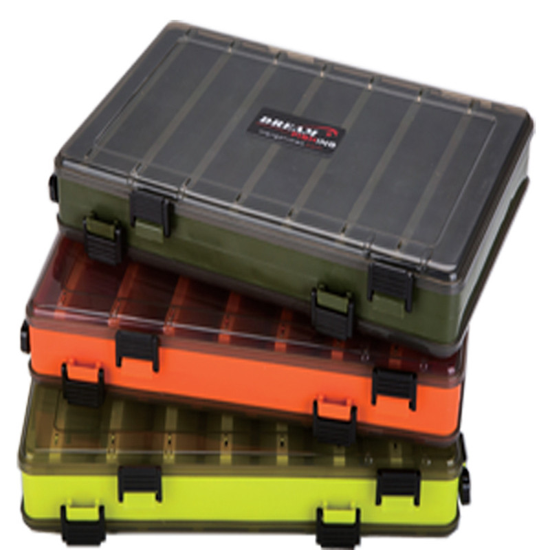1 Piece New Fishing Tackle Boxes Double Sided Box Fishing Lures Squid Jig Accessories Minnows Bait Fishing Tackle Container