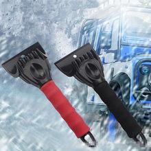 Raspador de gelo neve pá pára-brisa auto degelo carro inverno neve remoção ferramenta limpeza raspador de gelo ijs krabber limpieza coche