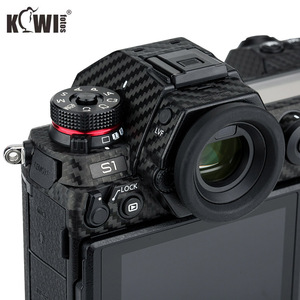 Image 3 - Anti Scratch Camera Body Skin Cover Protector Film for Panasonic Lumix S1 S1R Full Frame Camera 3M Sticker Carbon Fiber Pattern