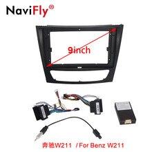 Navifly سيارة الوسائط المتعددة راديو الإطار ل بنز W203 W209 W219 / W211 E200 E220 E300 E350 / B200 W169 W245 فيانو فيتو W639